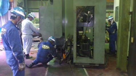 2.重量物機械移動据付業務